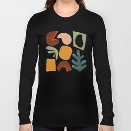 Playing Shapes Long Sleeve T-shirt