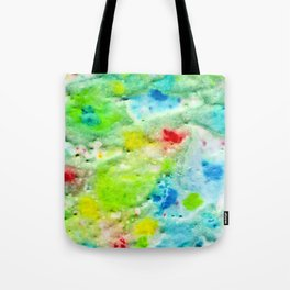 Fire In The Swamp Tote Bag