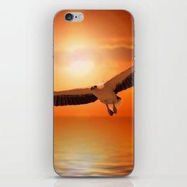 White  Eagle iPhone Skin