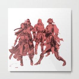 The Squad Metal Print