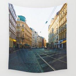 Vienna Street Wall Tapestry