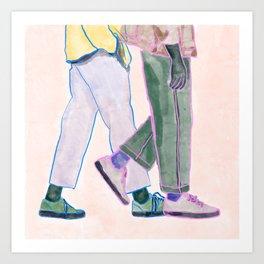 STREET BOYS Art Print