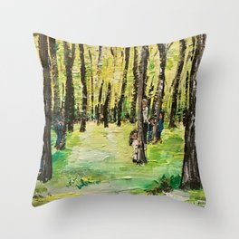"""""""We Are Still Here For You"""" Throw Pillow"""