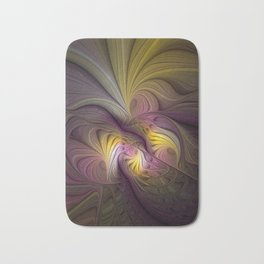 Unity, Abstract Colorful Fractal Art Bath Mat