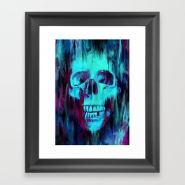 Calavera Painted Framed Art Print