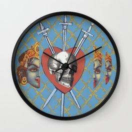 heart and head Wall Clock