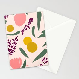 Abstract Garden Stationery Cards