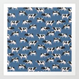Big milk dogs Art Print