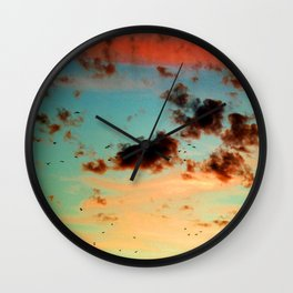 It was a beautiful day - photography  Wall Clock