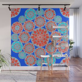 Flower Factory Wall Mural