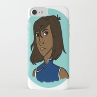 the legend of korra iPhone & iPod Cases featuring Korra by simone kett