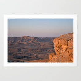 Deserts of Israel Art Print