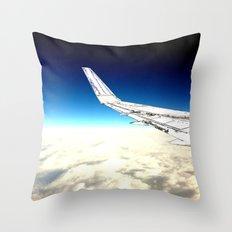 paper plane. Throw Pillow