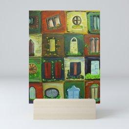 Windows Mini Art Print