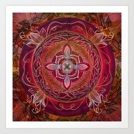 Root Chakra Art Print