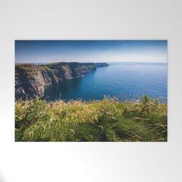 Sunny Cliffs of Moher, Ireland Welcome Mat