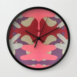 construction paper abstracts 2 Wall Clock