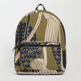 Art Nouveau Women Backpack