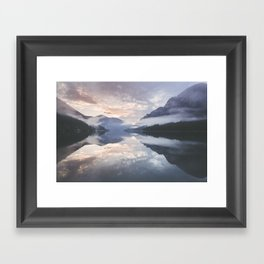 Mornings like this - Landscape and Nature Photography Framed Art Print