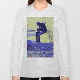 Getting Air - Skateboarder Long Sleeve T-shirt