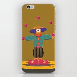 clown eye iPhone Skin