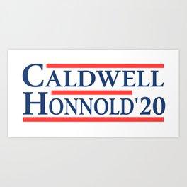 Caldwell Honnold 2020 Art Print