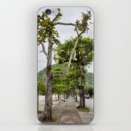 Street of Angra dos Reis (Brazil) iPhone Skin