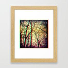 3-d vision Framed Art Print