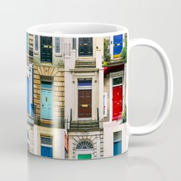 Colorful doors Coffee Mug
