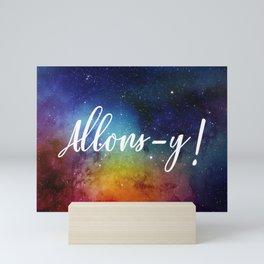 Allons-y! Mini Art Print
