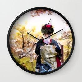 e poi fiorire Wall Clock