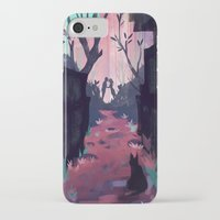lovers iPhone & iPod Cases featuring Lovers by youcoucou