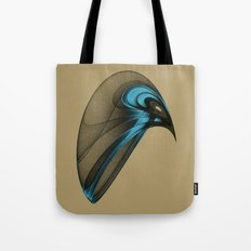 Fractal Bird with Sharp Beak Tote Bag