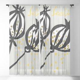 seeding Sheer Curtain