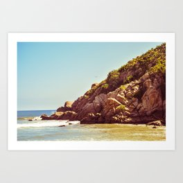 Barra de la Cruz Art Print