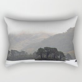 The pull of the land Rectangular Pillow