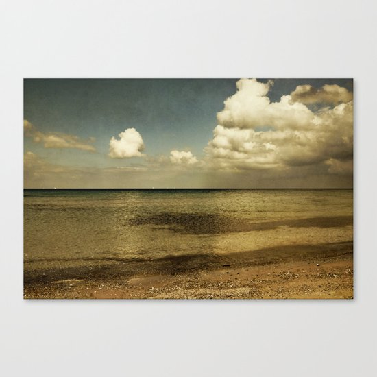 copper light Canvas Print