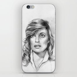 Sue Ellen Ewing iPhone Skin
