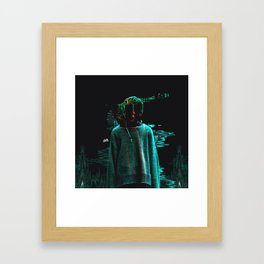 Ian Connor Fashion Glitch Art Framed Art Print