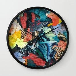 Fallen Wall Clock