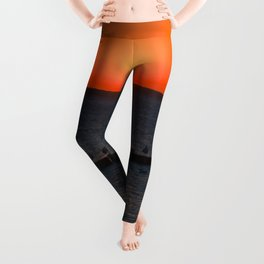 Holy sunset on the Baltic Sea Leggings