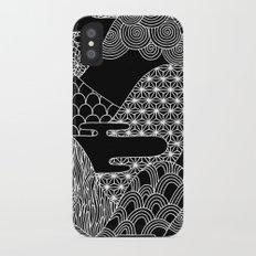 Cosmic Mountains Slim Case iPhone X