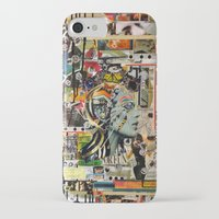 safari iPhone & iPod Cases featuring Safari by Katy Hirschfeld