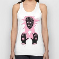 horror Tank Tops featuring Horror by Olivier Carignan
