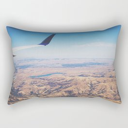 Flight Over California Rectangular Pillow