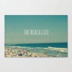 The Beach Life Canvas Print