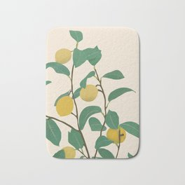 Lemon Bath Mat