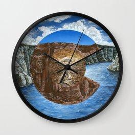 Colorado Flag Polyscape Wall Clock