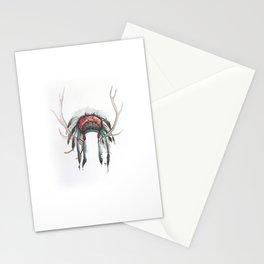 Antler Headdress Stationery Cards