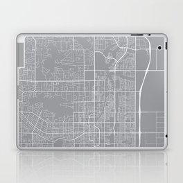 Scottsdale Map, Arizona USA - Pewter Laptop & iPad Skin